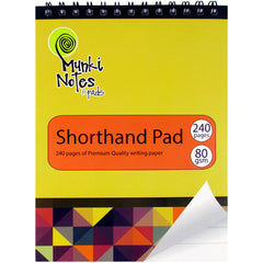 Munki Notes Shorthand Pad
