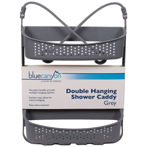 Double Hanging Shower Caddy