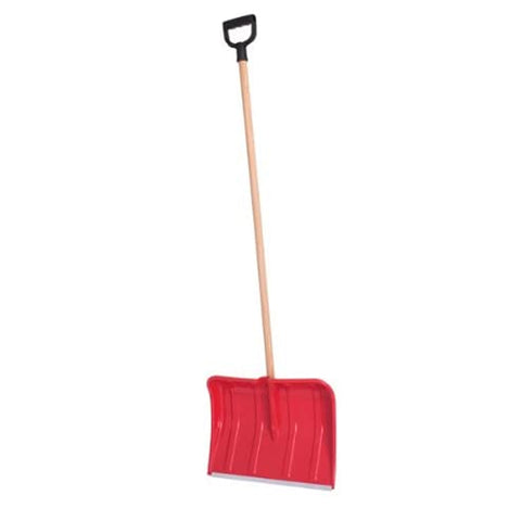 Deluxe Snow Shovel With Wooden Hande