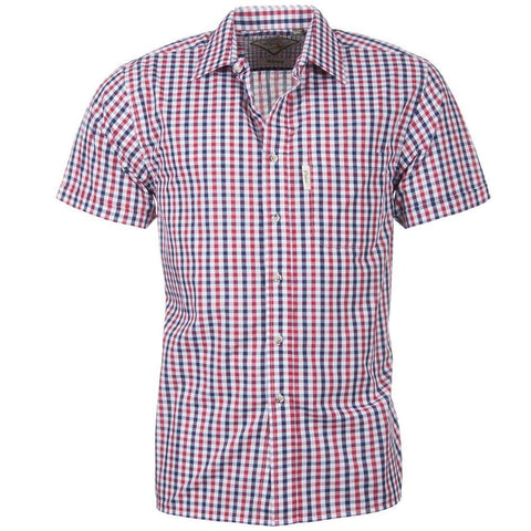 Rydale Men's Short Sleeved Check Shirts