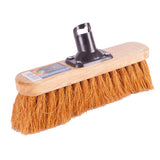 Natural Coco Soft Bristled Yard Brush