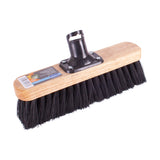 Soft Bristled Wooden Yard Brush 275mm