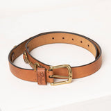 Tan Snaffle Leather Belt