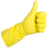 Thumbs Up Rubber Gloves
