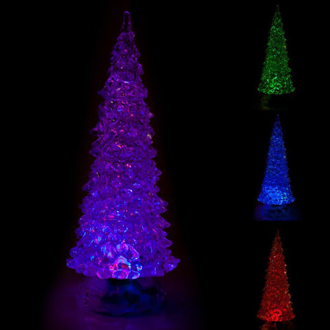 Colour Changing Glitter Christmas Tree