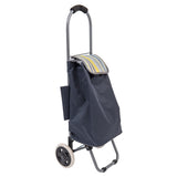 Stripe PatternedShopping Trolley