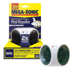 The Big Cheese Ultra Power Mega-Sonic Plug-In Twin-Speaker