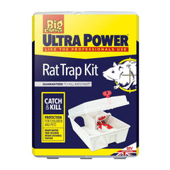 The Big Cheese Ultra Power Trap Kit For Rats