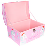 Pink Unicorn Christmas Eve Gift Chest