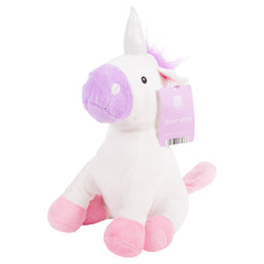 Plush Pink & Purple Unicorn Door Stop