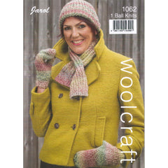 Ribbed Cravat - Scarf & Mitts Jarol 1062
