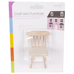 Wooden Mini Furniture Chair
