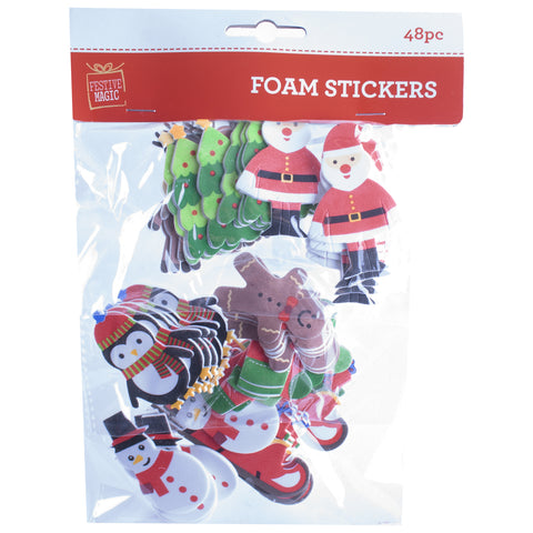 Foam Christmas stickers