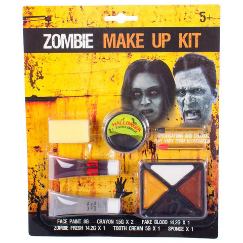 Complete Zombie Makeup Kit