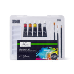 18 Piece Aquarel Art Set