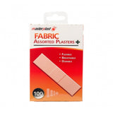 100 fabric assorted plasters