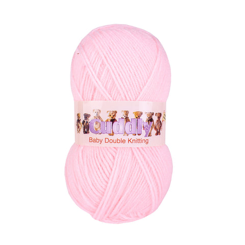Pink - Baby Double Knitting Wool