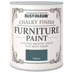 Chalky Finish Furniture Paint 750ml Belgrave