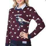 Rydale Christmas Jumper Berry Pheasant