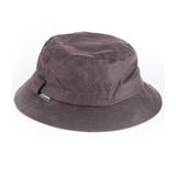 Waxed Cotton Bush Hat brown