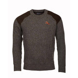 Rydale Mens Chunky Knit Shooting Sweater Derby