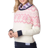 Rydale Christmas Jumper Cream Fairisle