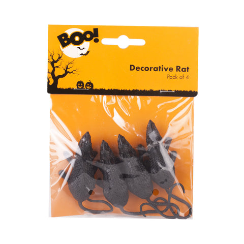 BOO! 4 Pack of Rats