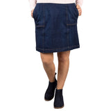 Ladies Denim & Twill Skirts