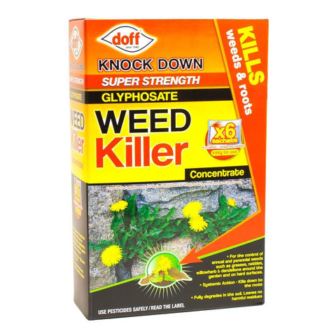 Knock Down Glyphosate Weed Killer