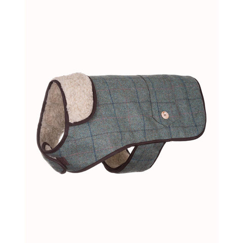 Tweed Dog Coat Kate Tweed 10""