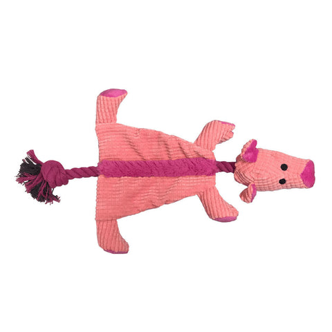 Soft Dog Toy - Pig Design