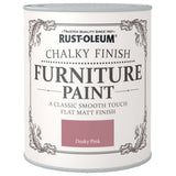 Chalky Finish Furniture Paint 750ml Dusky Pink