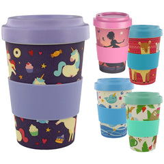 Reusable Eco Friendly Bamboo Travel Mug