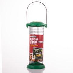 Flip Top Nut Feeder