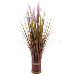 Smart Garden Lilac Grass Tails Faux Bouquet 70cm