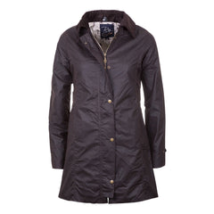 Rydale Hannah II 3/4 Length Wax Jacket Brown