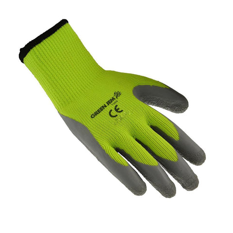 Hi Vis Yellow Medium Gloves