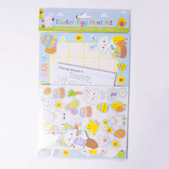 Easter Egg Hunt Kit - Map, Stickers