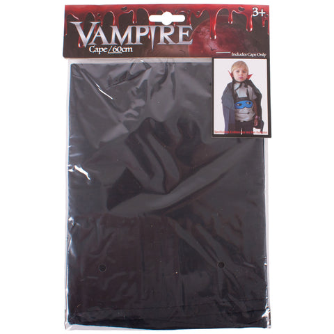 Spooky Haunting Halloween Themed Kids 60cm Vampire Costume