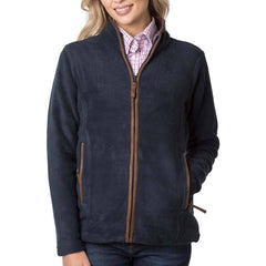 Ladies Huggate Fleece Jacket Ink