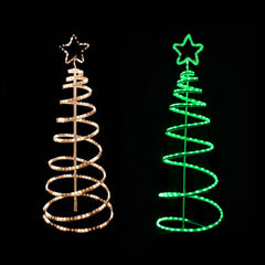 LED Spiral Tree Ropelight