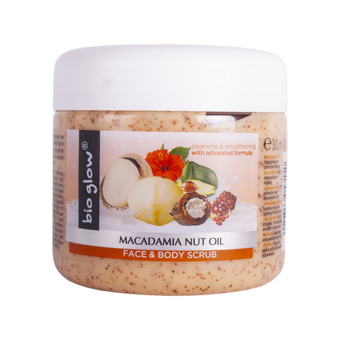 Macadamia Nut Oil Face & Body Scrub