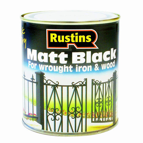 Black Matt Quick Dry 250ml