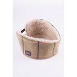 Sherpa Lined Tweed Headband Megan