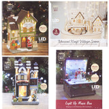 Christmas Light Up Musical Ornaments