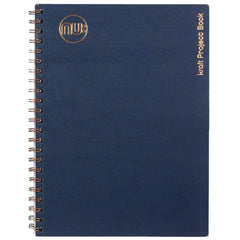 Notebook Navy/Gold
