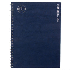 Notebook Navy/White