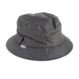 Waxed Cotton Bush Hat olive