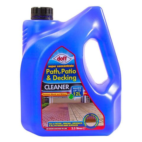Path, Patio & Decking Cleaner 2.5L makes 12L