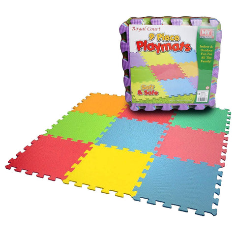 9 Piece Children's Playmats